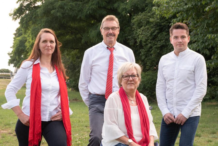Ihre KandidatInnen der SPD für den Kreistag aus der Samtgemeinde Ahlden