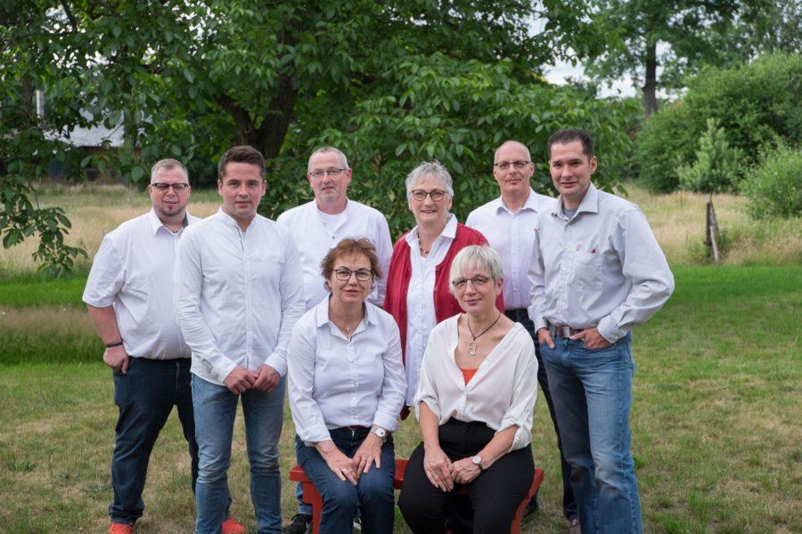 Ihre KandidatInnen der SPD für den Gemeinderat Hademstorf